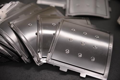 metal heat shields aerospace component