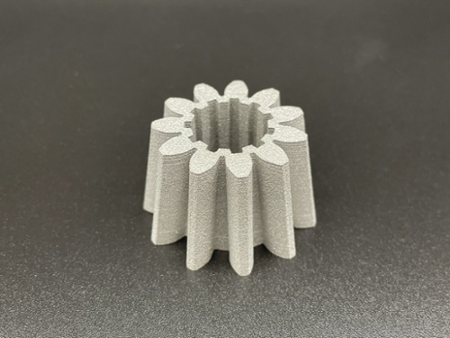 Tapered Gear that was DMLS 3D printed
