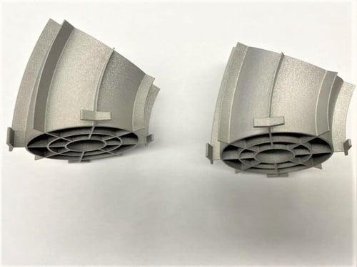 ph17-4 stainless steel 3d printed valve part