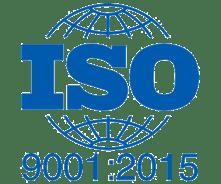 ISO 9001-2015 certification logo