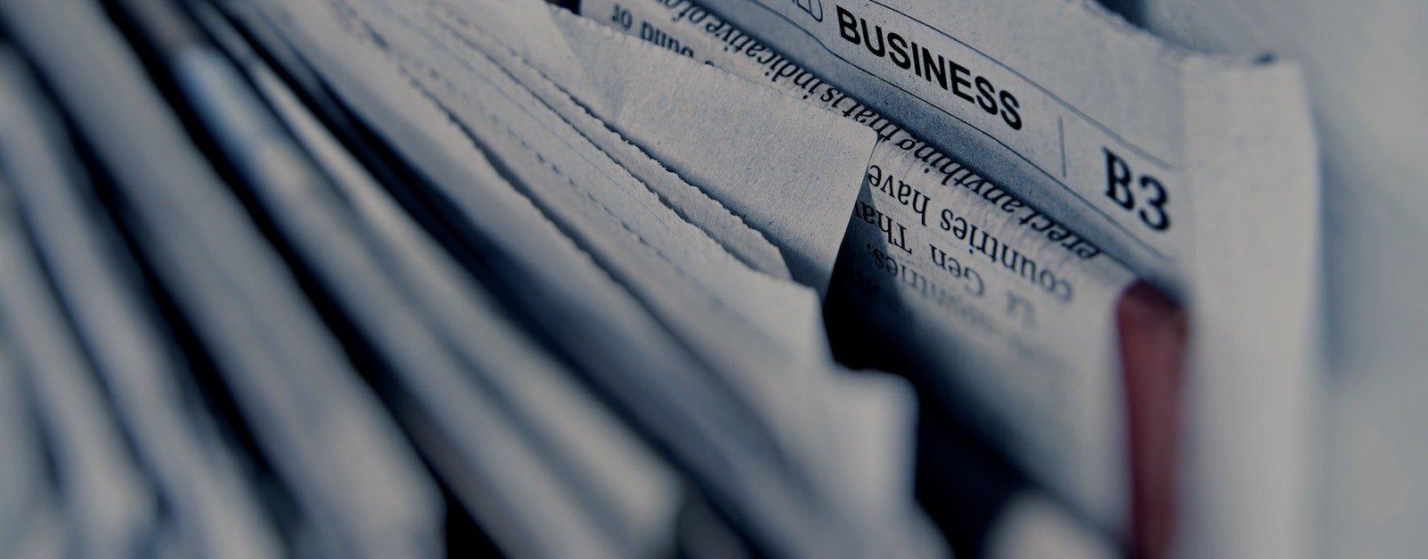 newspapers copy